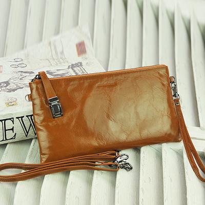 玛莉思曼 真皮女包女式手拿包新款韩版手包女士斜挎牛皮小包包 5806