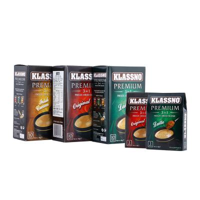 卡司诺 金装3合1冷冻干燥速溶咖啡