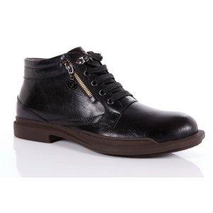 秋冬新款上市 男靴子 韩版 潮流 短靴真皮 男靴子时尚靴男式男鞋