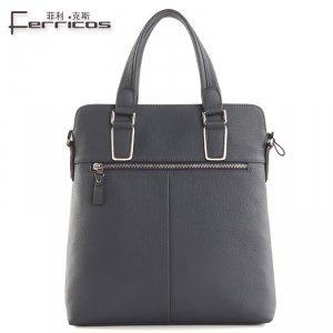 【菲利克斯】头层牛皮单肩包斜跨包手提包包真皮牛皮包 FE60004-2