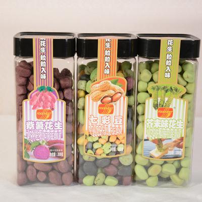 富达牌 紫薯花生 芥末味花生 七彩豆(满30罐分销6.5/罐)