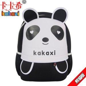 【卡卡希】儿童书包可爱韩版男女童幼儿园包大班小班学前班旅游背包 熊猫 KK013