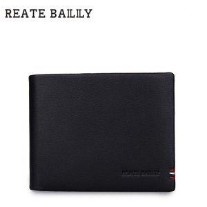 REATE BAILILY特色车缝 黑色经典钱夹LB281-5H 包邮