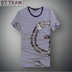 EXCELLENT 莫代尔棉修身针织T恤E7140