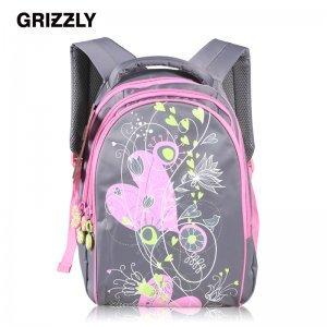 【GRIZZLY】俄罗斯进口热销产品 6-12岁儿童背包可爱双肩包轻便护脊减负RD-522