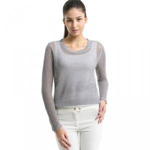 卡娅米娅 新款韩版超薄棉麻针织衫 S1520037