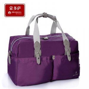 男女大容量手提旅行包 防水尼龙手提旅行袋行李包
