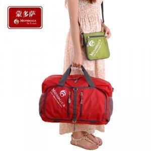 尼龙防水折叠旅行包 蒙多萨休闲折叠行李包旅行袋 CY1397H