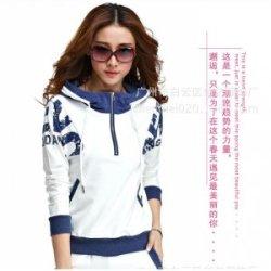 厂家直销 韩版休闲套装秋装女运动服套装女修身连帽女装卫衣批发