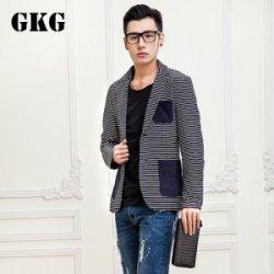 【GKG】细条纹西装X3912