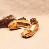戈登 时尚新品女士真皮皮鞋平底女鞋单鞋  包邮   168-16