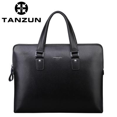 TANZUN/天尊 精品时尚商务牛皮男式手提包 JU-2
