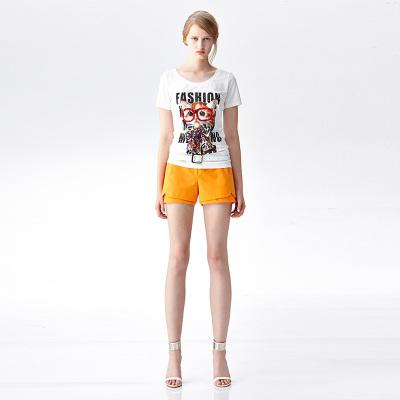 JEOUJIN 大牌气质显瘦简约时尚短裤 J8680D-07