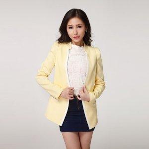 【特价包邮】波比莉娅 梭织时尚小西装外套 86002
