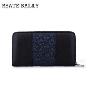 REATE BAILILY男士拼接 格纹长款手拿包BLA119-1H 包邮