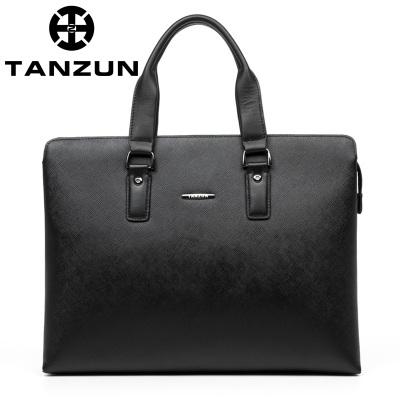 TANZUN/天尊 时尚牛皮手提单肩包 T7024