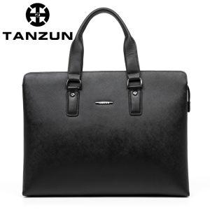 TANZUN/天尊 时尚牛皮手提单...