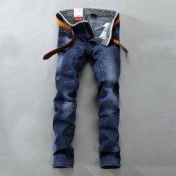 """格斗魔 时尚休闲商务<span class=""""gcolor"""">男士牛仔</span>长裤 056"""