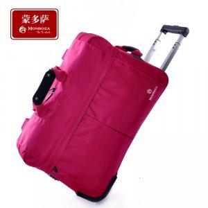韩版糖果色旅行拉杆包短途手提时尚行李包女大容量旅行袋 CY1330