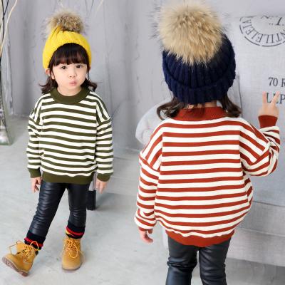 一件代发童装女童毛衣2017新款冬季儿童韩版针织衫冬装女孩外套潮