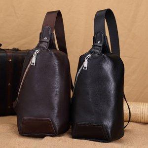 【中通包邮】夏季新款时尚简约男士胸包斜跨小包 DPU002