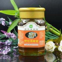 純天然野玫瑰蜂蜜活性蜂蜜自然成熟滋潤營養玻璃瓶裝包郵