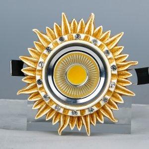 领冠照明 SG-16-M(手描玫瑰金)树脂手工雕塑天花灯