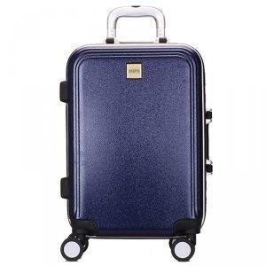金蒂雅abs+pc铝框拉杆箱万向轮 男女行李箱时尚旅行箱24寸潮箱2211