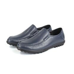 """梵森百利莱 夏季男士真皮懒人豆豆鞋<span class=""""gcolor"""">休闲皮鞋</span> 8062"""