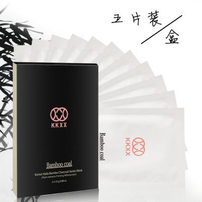 韩国纯妞KKXX 汉拿山竹炭保湿补水面膜 0066