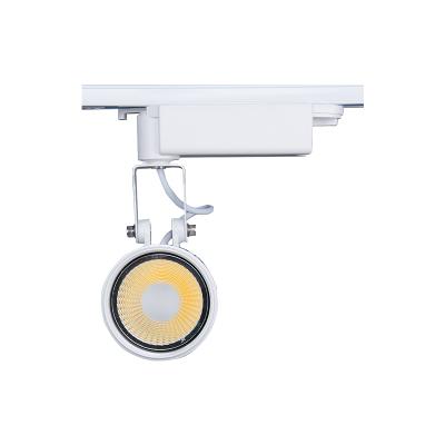伟志光电 照明LED轨道灯高档服装店展厅橱窗轨道灯三线导轨灯GD02