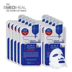 MEDIHEAL/美迪惠尔NMF针剂水库面膜贴保湿补水10片官方正品