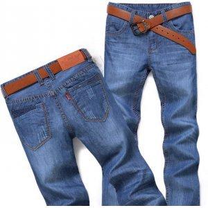 胤酷牛 新款修身牛仔长裤 LS620