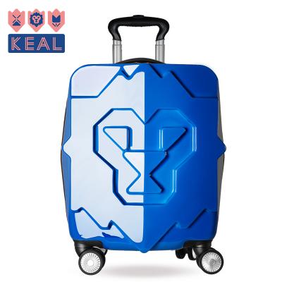 科爱KEAL 儿童拉杆行李箱18寸飞机轮登机箱万向轮旅行箱 K61