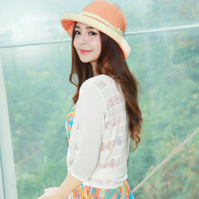 RUIDY 蝴蝶结针织中袖衫 RY6432