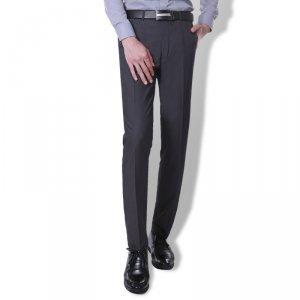 男士西裤夏季薄款休闲西装裤韩版修身英伦长裤子新款