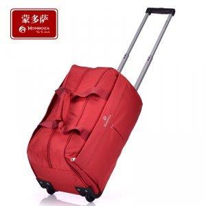 商务旅行包 台湾进口防水尼龙拉杆包 大容量手提包