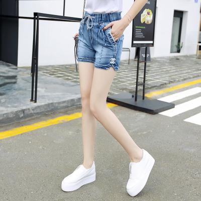 简晨 大码女装穿绳牛仔短裤 JC1126