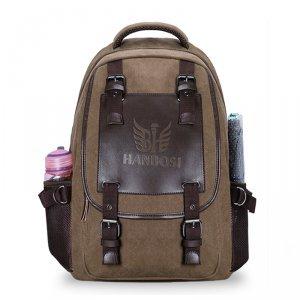 【瀚博斯】 特价包邮 帆布包双肩背包 休闲包 电脑包 旅行包 男女学生书包韩版 HBS-8005