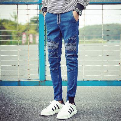 哥莱仕 时尚精致修身型男牛仔裤 A23