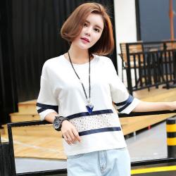 金丽都 新款潮流时尚五分袖t恤女 96006
