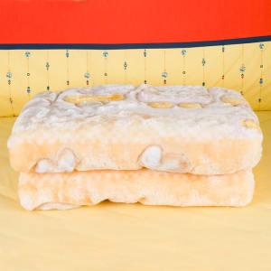 2件套超值装 加厚加绒拉舍尔毛毯+海...