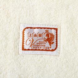 上品婴 极简家主义纯棉素色长款婴儿浴巾