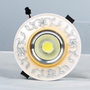 领冠照明 SG-08-M(玫瑰金)树脂手工雕塑天花灯