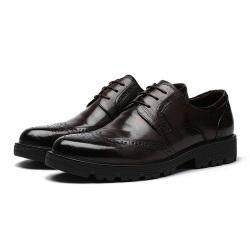 """薏森 包邮 布洛克雕花男鞋英伦男士商务<span class=""""gcolor"""">休闲皮鞋</span> N090-D2-C016"""