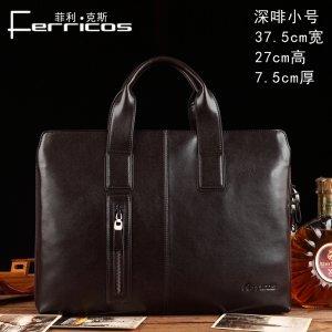 【菲利克斯】意大利商务包男士手提包单肩包斜挎包公文包包 F67975-1