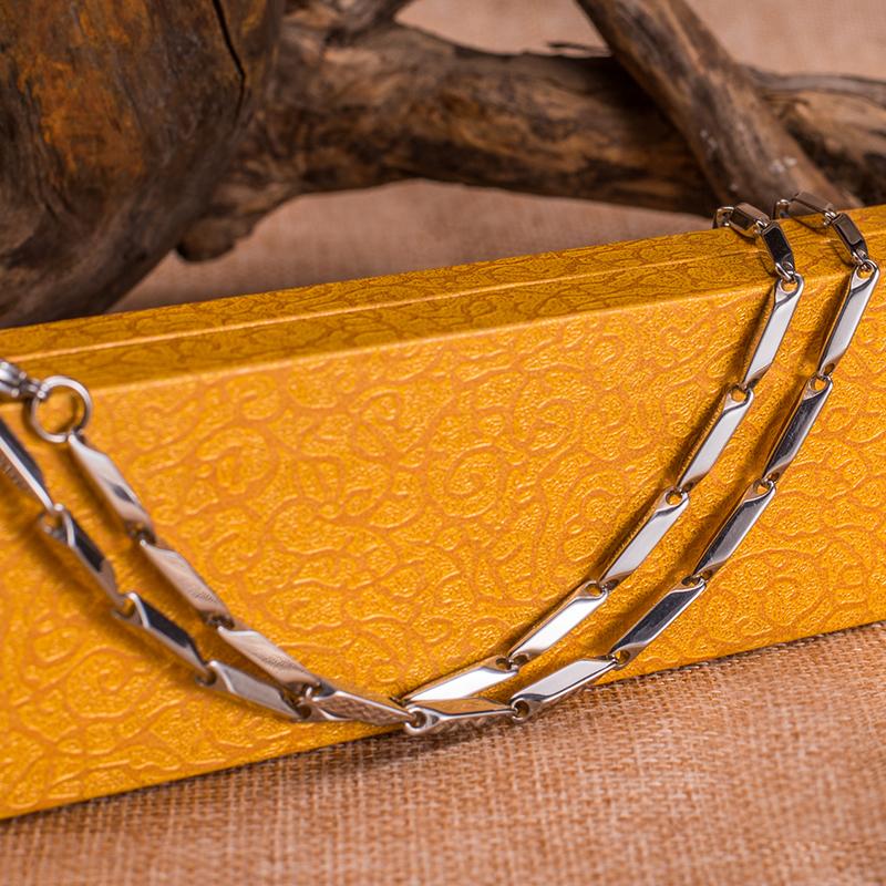 诺珀饰品 时尚钛钢日韩饰品锁骨链  锁骨链-1