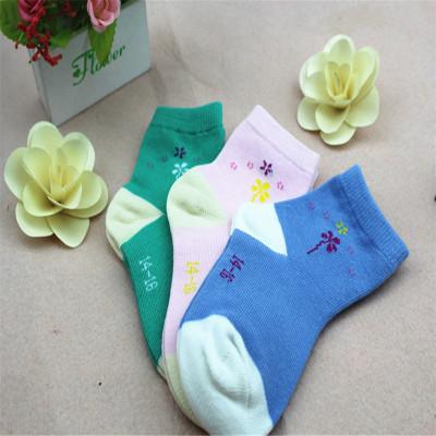 婴儿纯棉糖果色中筒秋冬新款童袜子透气宝宝女童四季常规保暖棉袜