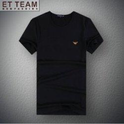 EXCELLENT 莫代尔棉时尚间海军夏装T恤 E6201