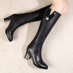 依丽蝶  特价包邮 秋冬欧美时尚粗跟长筒靴 YD2008